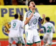 Villarreal vs Wolfsburgo (EPA/DOMENECH CASTELLO)