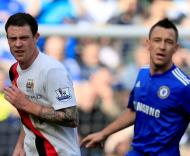 Wayne Bridge e John Terry (Reuters)