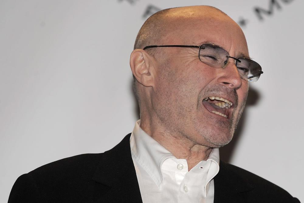 Phil Collins, dos Genesis, na gala do Rock and Roll Hall of Fame 2010 (EPA)
