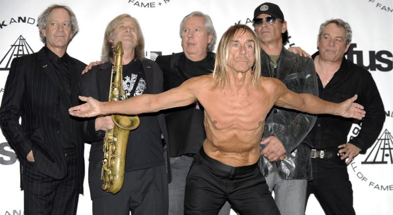 The Stooges na gala do Rock and Roll Hall of Fame 2010 (EPA)