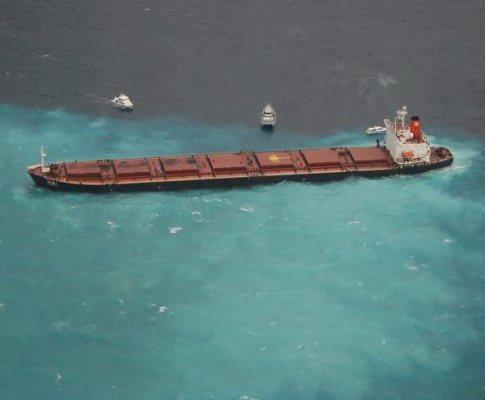 Petróleo na Grande Barreira de Corais australiana