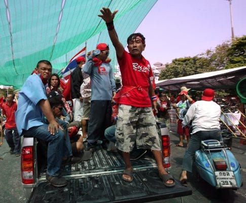 Agitação política na Tailândia (EPA/Barbara Walton)