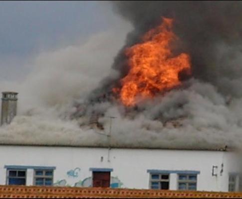Incêndio em Alcochete (direitos reservados)