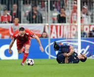 Franck Ribery e Lisandro Lopez