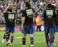 «Quarta deixo a pele em campo», diz Barcelona