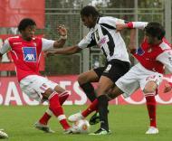 Primeira Liga de Futebol: Nacional vs SP. Braga