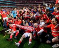 Maio: Benfica campeão nacional pela 32ª vez