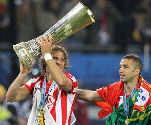 Simão ganha Liga Europa com At. Madrid