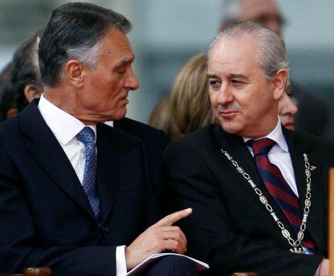 Cavaco Silva e Rui Rio (LUSA)