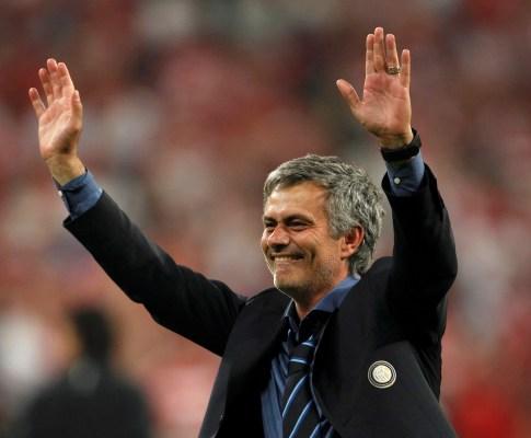 José Mourinho vence Liga dos Campeões (Reuters)