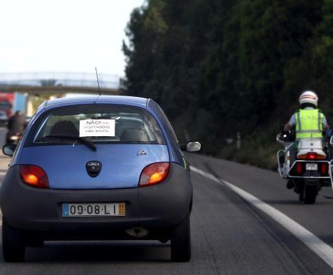 SCUT: protesto entope A29 em Gaia