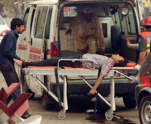 Ataques a mesquitas do Paquistão (EPA/RAHAT DAR)