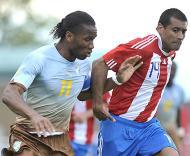 Drogba e Paulo da Silva