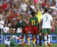 Samuel Etoo (Camarões), Duda e Cristiano Ronaldo