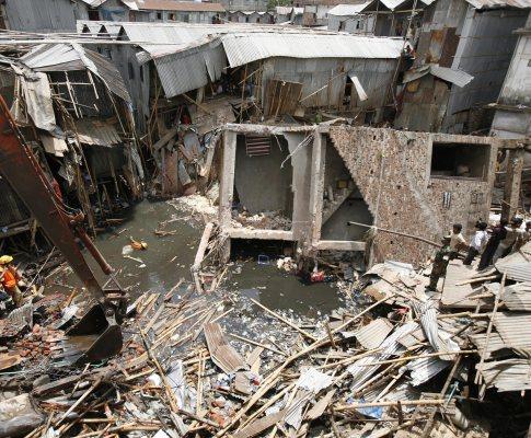 Desmoronamento no Bangladesh