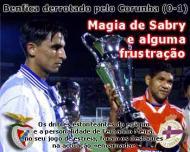 A pré-época do Benfica (30/7/2000)