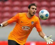 Roberto, guarda-redes do At. Madrid, interessa ao Benfica