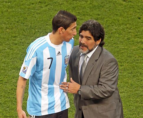 Di María e Maradona
