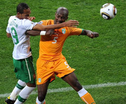 Mundial 2010: Costa do Marfim vs Portugal (EPA/ROBERT GHEMENT)