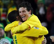 Mundial 2010: Brasil vs Coreia do Norte (EPA/GEORGI LICOVSKI)