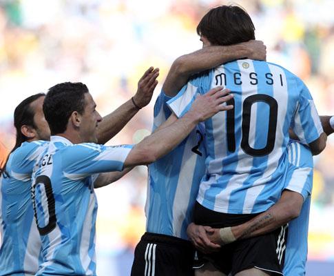 Argentina vs Coreia do Sul (EPA/SRDJAN SUKI)
