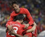 Mundial 2010: Portugal vs Coreia do Norte (EPA/MOHAMED MESSARA)