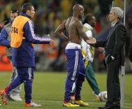 Mundial 2010: França vs Africa do Sul (EPA/YURI KOCHETKOV)