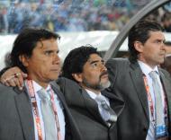Mundial 2010: Grécia vs Argentina (EPA/BRIAN STEWART)