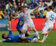 Mundial 2010: Eslováquia vs Itália (EPA/GEORGI LICOVSKI)
