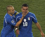 Mundial 2010: Eslováquia vs Itália (EPA/KERIM OKTEN )