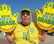 Mundial 2010: Portugal vs Brasil (EPA/DANIEL DAL ZENNARO)