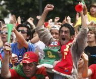 Mundial 2010: Portugal vs Brasil (LUIS FORRA/ LUSA)