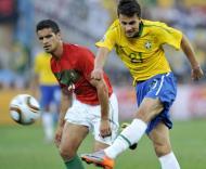 Mundial 2010: Portugal vs Brasil (EPA/ANDY RAIN)