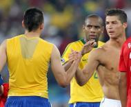Mundial 2010: Portugal vs Brasil (EPA/ALI HAIDER)