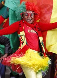 Mundial 2010: cromos e figuras nas bancadas