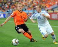 Mundial 2010: Holanda vs Eslováquia (EPA/DANIEL DAL ZENNARO)