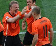 Mundial 2010: Holanda vs Eslováquia (EPA/HALDEN KROG)
