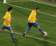 Mundial 2010: Brasil vs Chile (EPA/VASSIL DONEV)