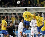 Mundial 2010: Brasil vs Chile (EPA/KERIM OKTEN)