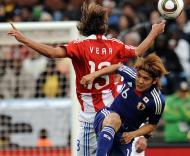 Mundial 2010: Paraguai vs Japão (EPA/VASSIL DONEV)