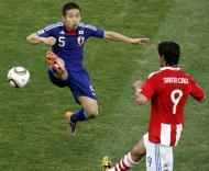 Mundial 2010: Paraguai vs Japão (EPA/KERIM OKTEN)