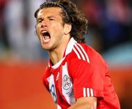 Mundial 2010: Paraguai vs Japão (EPA/SRDJAN SUKI)