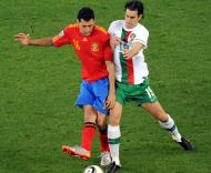 Mundial 2010: Espanha vs Portugal (EPA/HELMUT FOHRINGER)