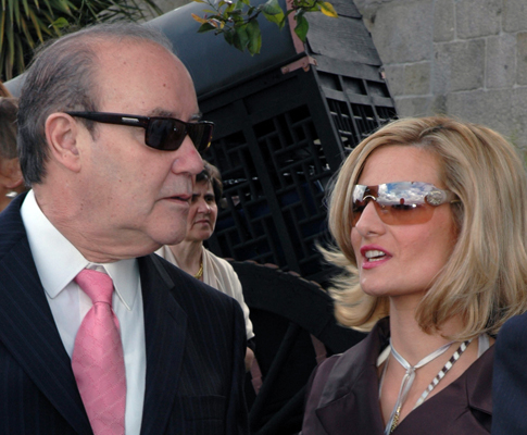 Pinto da Costa e Carolina Salgado (Lux)
