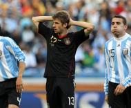 Argentina vs Alemanha (EPA/OLIVER WEIKEN)