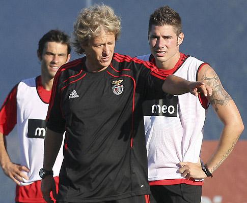 Benfica treina no Seixal