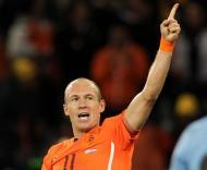 Uruguai vs Holanda (EPA/OLIVER WEIKEN)