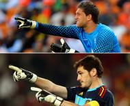Stekelenburg e Iker Casillas