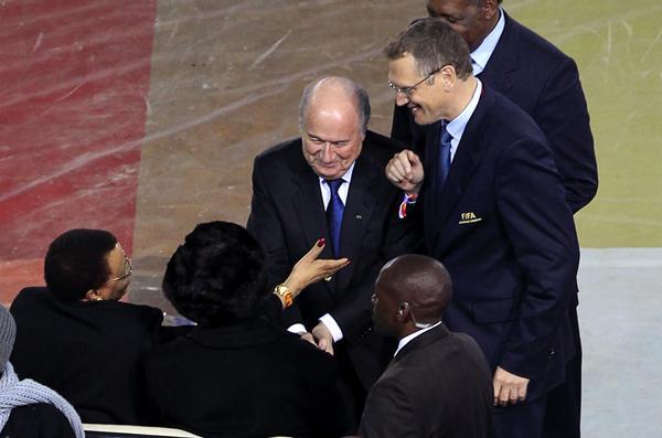 Cerimónia de Encerramento do Mundial 2010 (Reuters)
