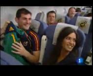 Superstars Iker Casillas e Sara Carbonero